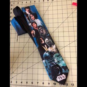 Star Wars original cast polyester tie